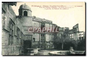 Postcard Ancient castle Grignan second courtyard fa?ade Carcassonne Watchman ...