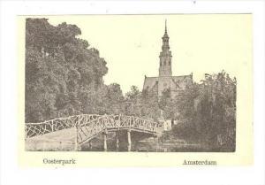 Amsterdam , Netherlands, 1890s   Oosterpark