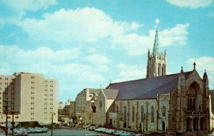 Ohio Cleveland Cathedral Of St Johns The Evangelist