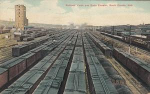 SOUTH OMAHA , Nebraska, 1908 ; Railroad Yards
