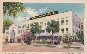 Florida Saint Petersburg Dusenbury Hotel 1941