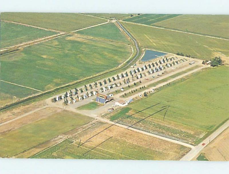 Pre-1980 CAMP SCENE Greeley - Near Fort Collins & Denver Colorado CO c3710