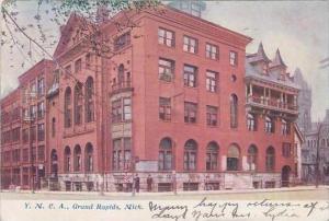 Michigan Grand Rap[ids Y M C A 1906