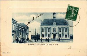 CPA CHATILLON-COLIGNY Hotel de Ville (607469)