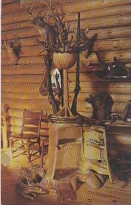 Michigan Baldwin This Rotating Gunrack Mounted On Wooden Bearings