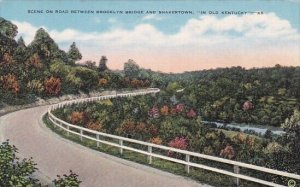 Scene On Road Between Brooklyn Bridge And Shakertown In Old Kentucky