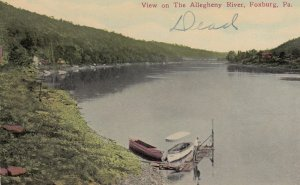 FOXBURG , Pennsylvania , 00-10s ; View on the Allegheny River