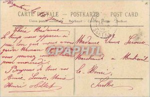 Old Postcard Argentan Church Saint Germain started in 1424 ended in 1638