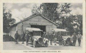 Fire Department , Camp Holabird , Maryland , 1910-30s