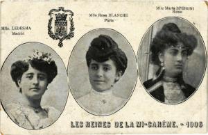 CPA PARIS MI-CAREME 1906 Les Reines (576452)