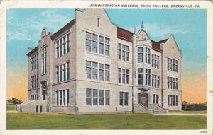 Exterior View, THe Administration Building, Thiel College, Greenville, Pennsy...