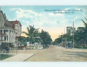 Unused Divided-Back INN MOTEL Miami Florida FL c6019
