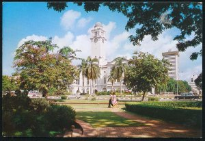 Empress Place Singapore 1970s S.W. # S7775 Asian Civilisations Museum Postcard