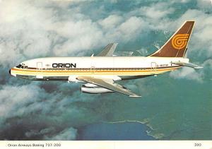 Orion Airways Boeing 737-200 G-BGTW