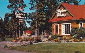 Alpine Village , JASPER , Alberta , Canada , 50-60s
