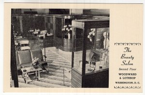 Washington, D.C., Woodward & Lothrop, The Beauty Salon, Second Floor