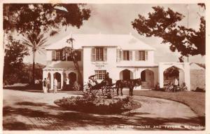Bermuda Tom Moore House and Tavern Real Photo Vintage Postcard JE229518