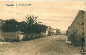 02309   CARTOLINA d'Epoca:  LIBIA : APOLLONIA