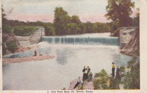 FORT WORTH , Texas , 00-10s ; City Park Dam