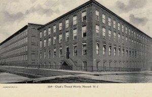 NEWARK , New Jersey , 1901-07 ; Clark's Thread Works