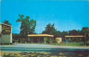 Savannah Georgia~Lord Chesterfield Motel~Playground Swings & Slide~US 17~1950s