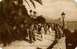 Monaco - Monte Carlo, The Terraces - RPPC