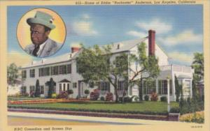 California Los Angeles Home Of Eddie Rochester Anderson 1948 Curteich