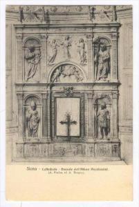 Siena, Italy , 00-10s   Cattedrale - Dossale dell'Altare Piccolomini