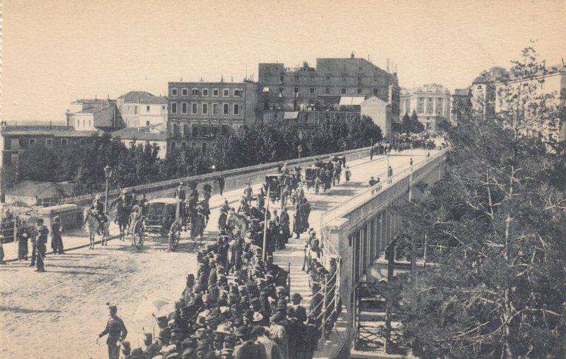 MADRID , Spain , 00-10s ; Viaducto sobre la calle de Segovia