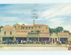 Pre-1980 STREET SCENE Dodge City Kansas KS hp2505