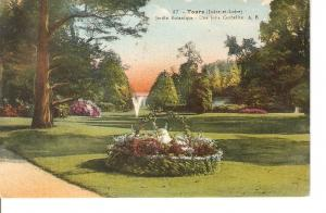 Postal 028828 : Tours (indre-et-Loire), Jardin Botanique - Une Jolte Corbeill...
