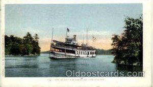 Steamer Island Wanderer, Thousand Islands Steamer Island W&erer Unused