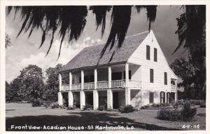 Louisiana St Martinsville Front View Acadian House Real Photo