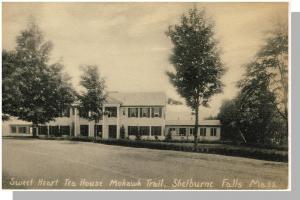 Shelburne Falls, Mass/MA Postcard, Sweet Heart Tea House