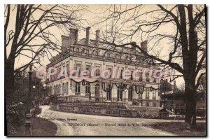 Postcard Old New Epernay Hotel De Ville