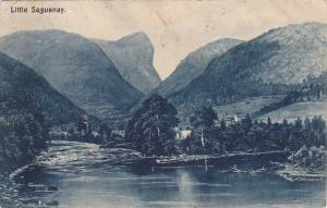 Partial Scene, Little Saguenay, Quebec, Canada, 1900-1910s