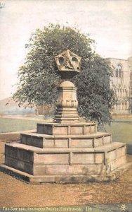 Sun Dial, Holyrood Palace Edinburgh Scotland, UK Unused