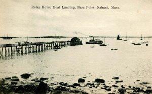 MA - Nahant. Bass Point. Relay House, Boat Landing