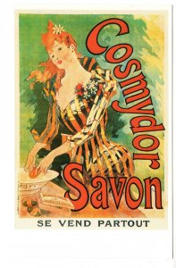 Cosmydor Savon French Advertising, Beautiful Woman