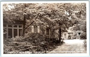 RPPC  CHATTANOOGA, Tennessee  TN   Lookout Mountain CHANTICLEER LODGE  Postcard