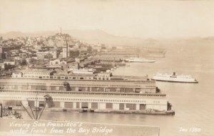 RP: SAN FRANCISCO, CA, 1930-40s ; Waterfront ; ZAN 1380