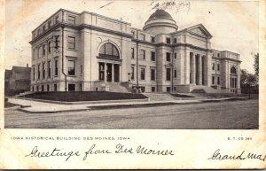 Iowa Des Moines Iowa Historical Building 1906