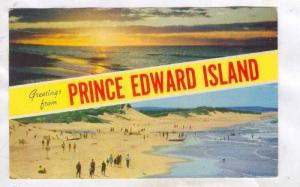 2-Views, Greetings from Prince Edward Island, Canada, PU-1965