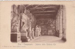 PISA, Camposanto, Interno della Galleria Est, Toscana, Italy, 00-10s
