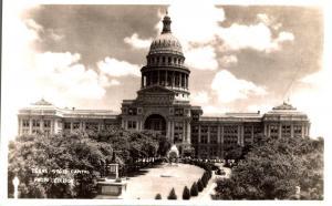 USA Texas State Capitol RPPC 02.57