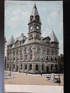 CANADA: Post Office Hamilton Ontarioc c1908