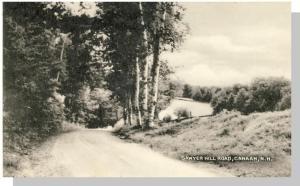 Canaan, New Hampshire/NH Postcard, Sawyer Hill Road