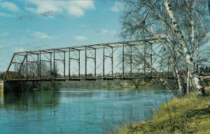 IRON BRIDGE , Ontario , PU-1965; The Old Iron Bridge, Mississagi River