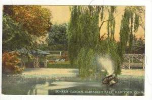 Sunken Garden, Elizabeth Park, Hartford, Connecticut, 1900-1910s