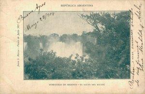Argentina - Territorio De Misiones El salto Del Iguazu 04.50